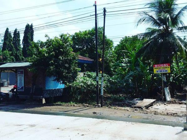 Dijual Tanah Lokasi Strategis di Jl. Ahmad Yani Sidareja Cilacap
